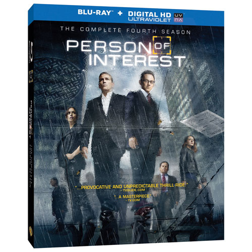 Person of Interest: The Complete Fourth Season (Blu-ray)