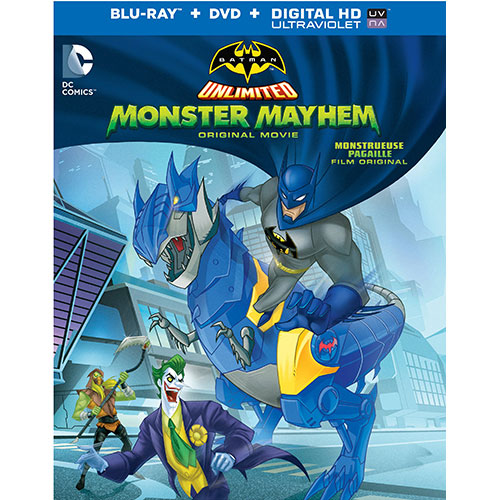 Batman Unlimited: Monster Mayhem (DC Universe) (Combo Blu-ray)