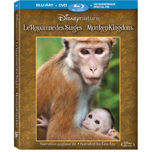 Disneynature: Monkey Kingdom (Bilingue) (Combo Blu-ray)