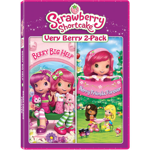 Strawberry Shortcake Very Berry 2-Pack: Berry Big Help/ Berry Friends Forever