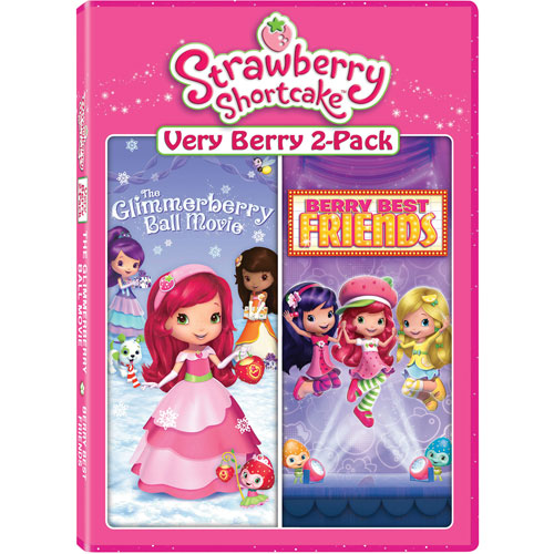 Strawberry Shortcake Very Berry 2-Pack: The Glimmerberry Ball Movie/ Berry Best Friends