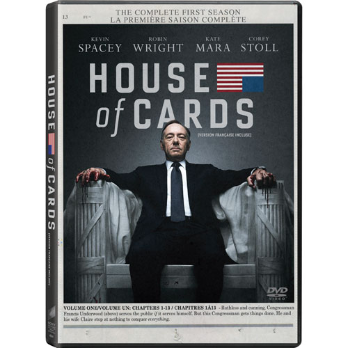 House Of Cards: Complete First Season (Bilingual)