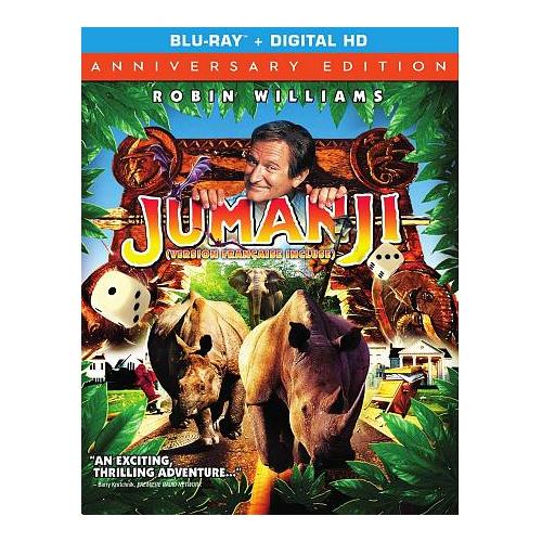 Jumanji (Bilingual) (20th Anniversary Edition) (Blu-ray)
