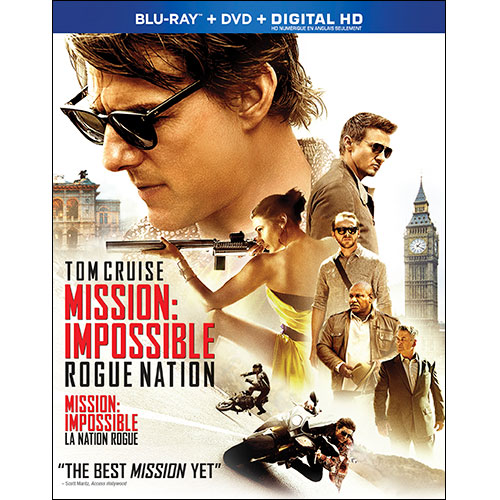 Mission: Impossible Rogue Nation (Combo Blu-ray) (2015)