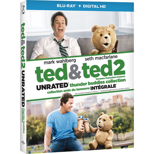 Ted/ Ted 2 (Blu-ray)