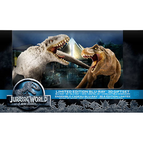 Jurassic World (Limited Edition Gift Set) (3D Blu-ray Combo) (2015)