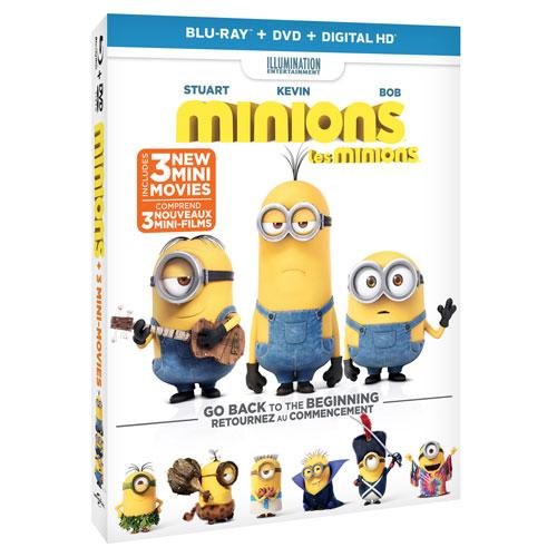 Minions (Blu-ray Combo) (2015)
