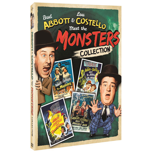 Abbott And Costello Meet Monsters Collection