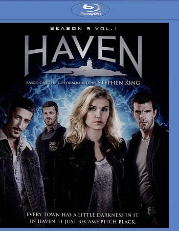 Haven - saison 5 volume 1 (Blu-ray)