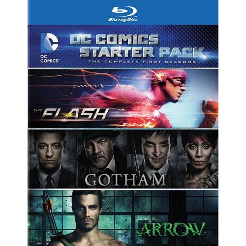 DC Starter Pack (Season 1 of Arrow/ Gotham/ Flash) (Blu-ray)
