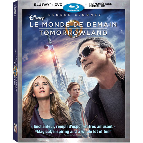 Tomorrowland (Bilingual) (Blu-ray Combo) (2015)