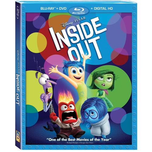 Inside Out (English) (Blu-ray Combo) (2015)