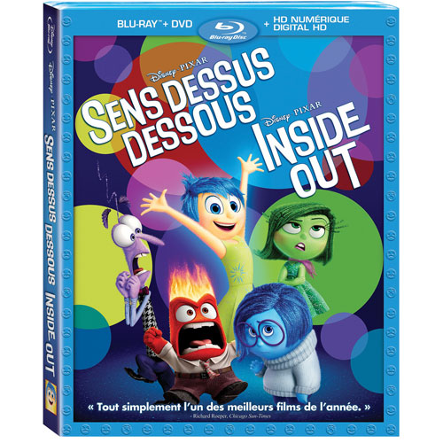 Inside Out (Bilingual) (Blu-ray Combo) (2015)