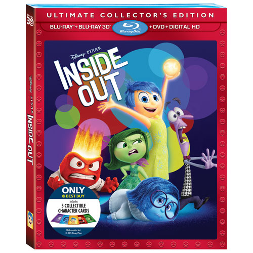 Inside Out (anglais) (Seulement à Best Buy) (Combo Blu-ray 3D) (2015)