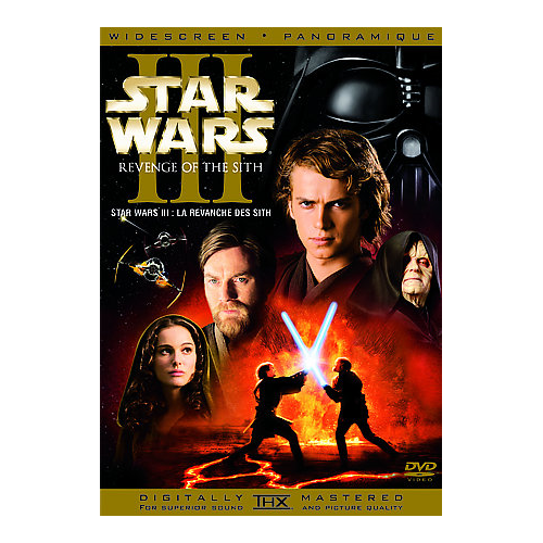 Star Wars: Revenge of the Sith (coffret SteelBook) (édition limitée) (Blu-ray) (2005)