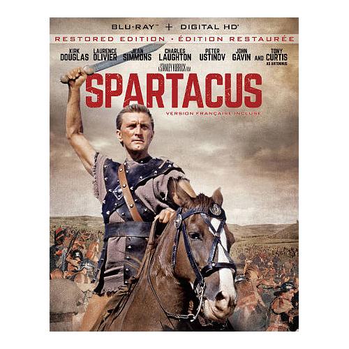 Spartacus Restored (55th Anniversary Edition) (Blu-ray)
