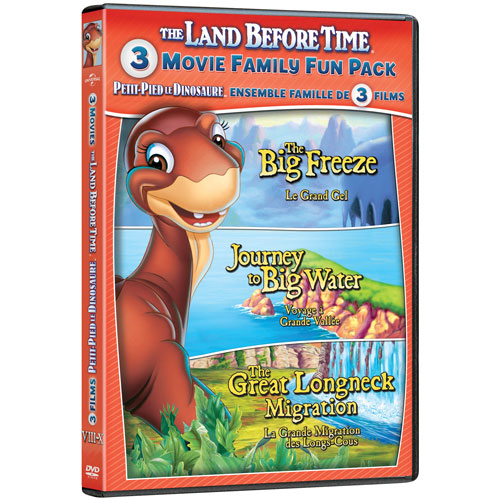 Land Before Time 8-10 Triple Feature