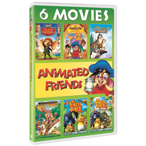 Animated Animal Friends: 6-Movie Collection