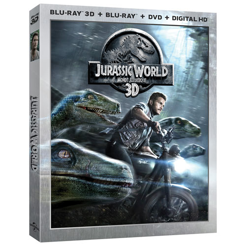 Jurassic World (Combo de Blu-ray 3D) (2015)