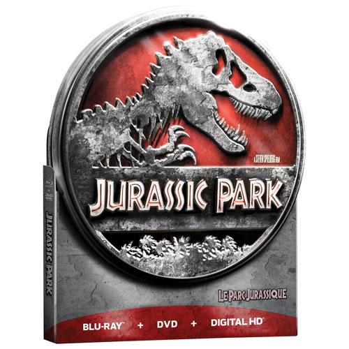 Jurassic Park (coffret métallique de collection) (Seulement à Best Buy) (Combo Blu-ray) (1993)