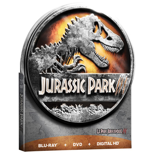 Jurassic Park III (coffret métallique de collection) (Seulement à Best Buy) (Combo Blu-ray) (2001)