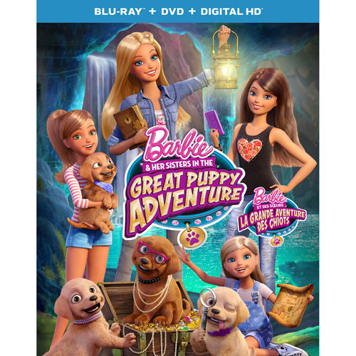 Barbie and Her Sisters in The Great Puppy Adventure (Blu-ray Combo) (2015)