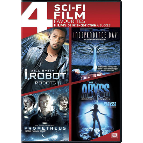 I Robot/ Prometheus/ Chronicle/ The Day After Tomorrow