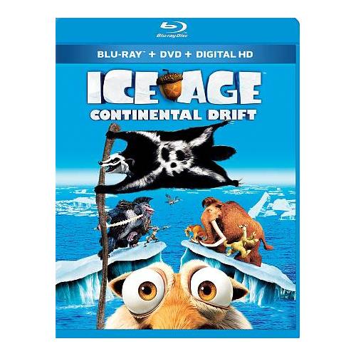 Ice Age: Continental Drift (Combo Blu-ray)