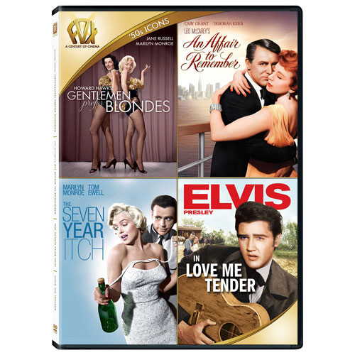 Gentlemen Prefer Blondes/ An Affair to Remember/ The Seven Year Itch/ Love Me Tender