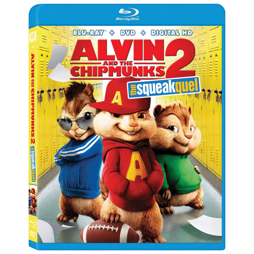 Alvin and The Chipmunks 2: The Squeakquel (Blu-ray Combo)
