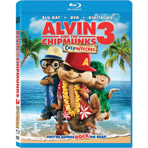 Alvin and The Chipmunks 3: Chipwrecked (Blu-ray Combo)