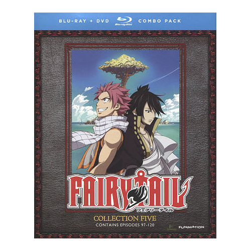 Fairy Tail: Collection 5 (combo Blu-ray)