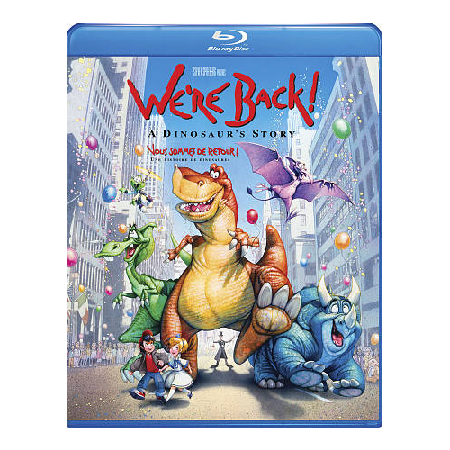 We're Back: A Dinosaur's Story (Blu-ray)