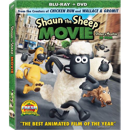 Shaun the Sheep The Movie (Blu-ray Combo) (2015)