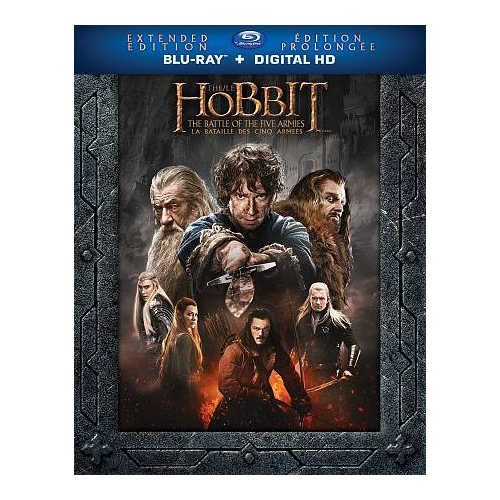 Hobbit: Battle of the Five Armies (Extended Edition) (Blu-ray) (2014)