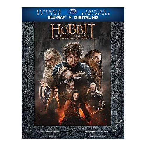 Hobbit: Battle of the Five Armies (édition prolongée) (Blu-ray) (2014)