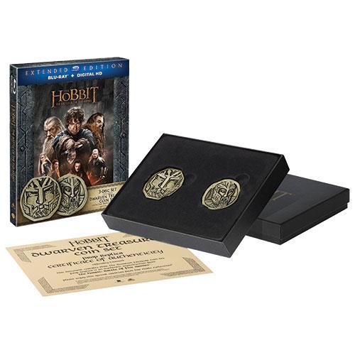 Hobbit: Battle of the Five Armies (coffret-cadeau) (Seulement à Best Buy) (Blu-ray) (2014)