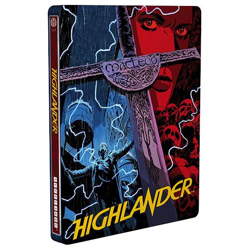 Highlander (Mondo X SteelBook) (Only at Best Buy) (Blu-ray) (1986)