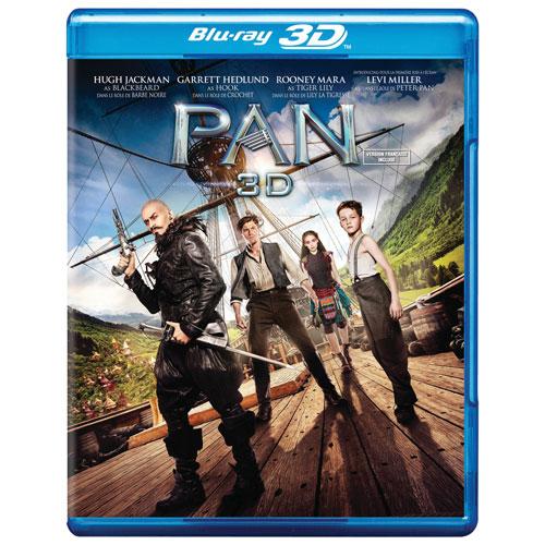 Pan (Combo Blu-ray 3D) (2015)