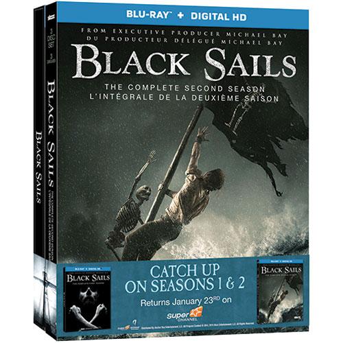 Black Sails: Season 1 & 2 (Blu-ray)