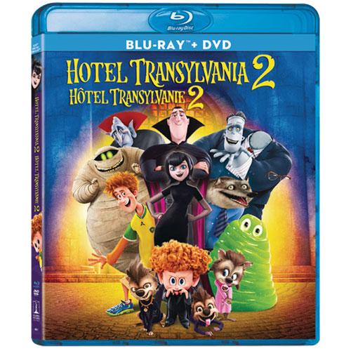 Hotel Transylvania 2 Blu Ray Combo 2015 Family
