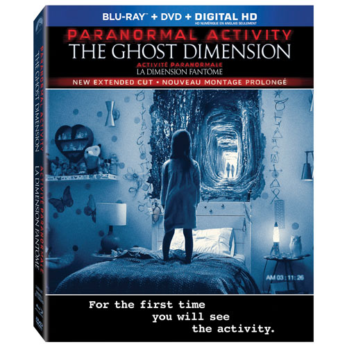 Paranormal Activity: The Ghost Dimension (Blu-ray Combo) (2015)