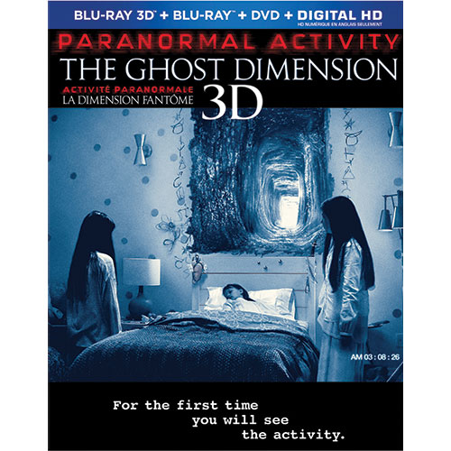 Paranormal Activity: The Ghost Dimension (3D Blu-ray Combo) (2015)
