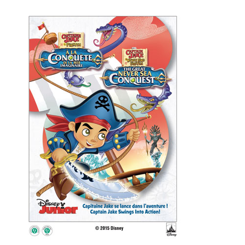 Captain Jake And The Never Land Pirates: The Great Never Sea Conquest (bilingue)