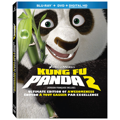 Kung Fu Panda 2 Ultimate Collection of Awesomeness (Blu-ray)