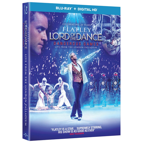 Lord Of The Dance: Dangerous Games (Blu-ray)