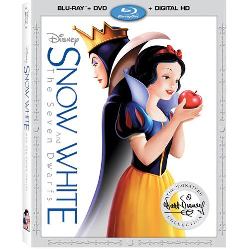 Snow White & The Seven Dwarfs (English) (Blu-ray Combo)
