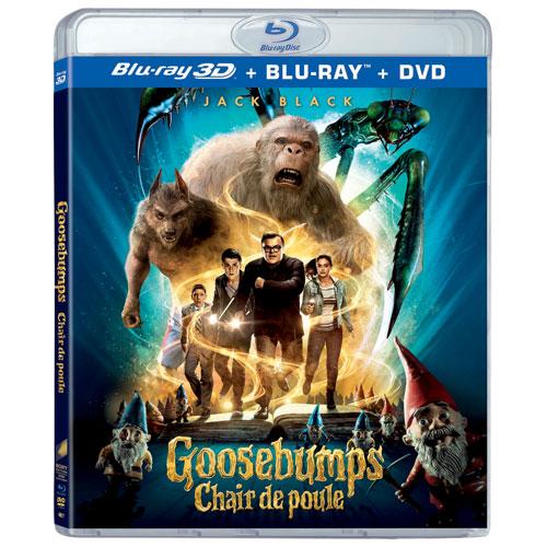 Goosebumps (3D Blu-ray Combo) (2015)