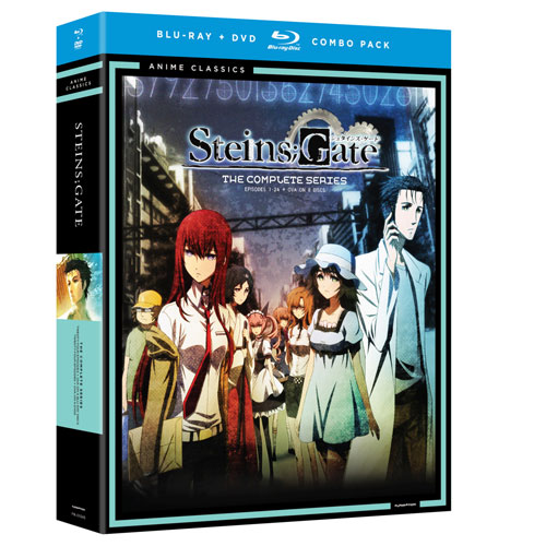 Steinsgate Complete Series (Blu-ray Combo)