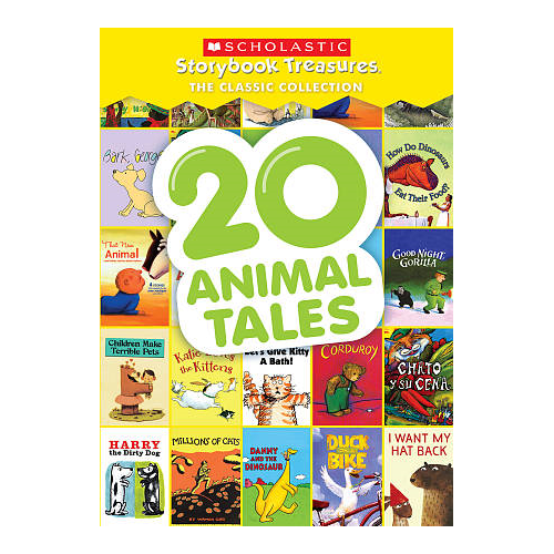 20 Animal Tales: Scholastic Storybook Treasures Classic Collection
